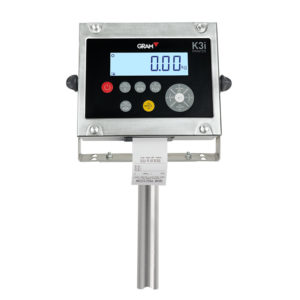 Column for weighing indicator