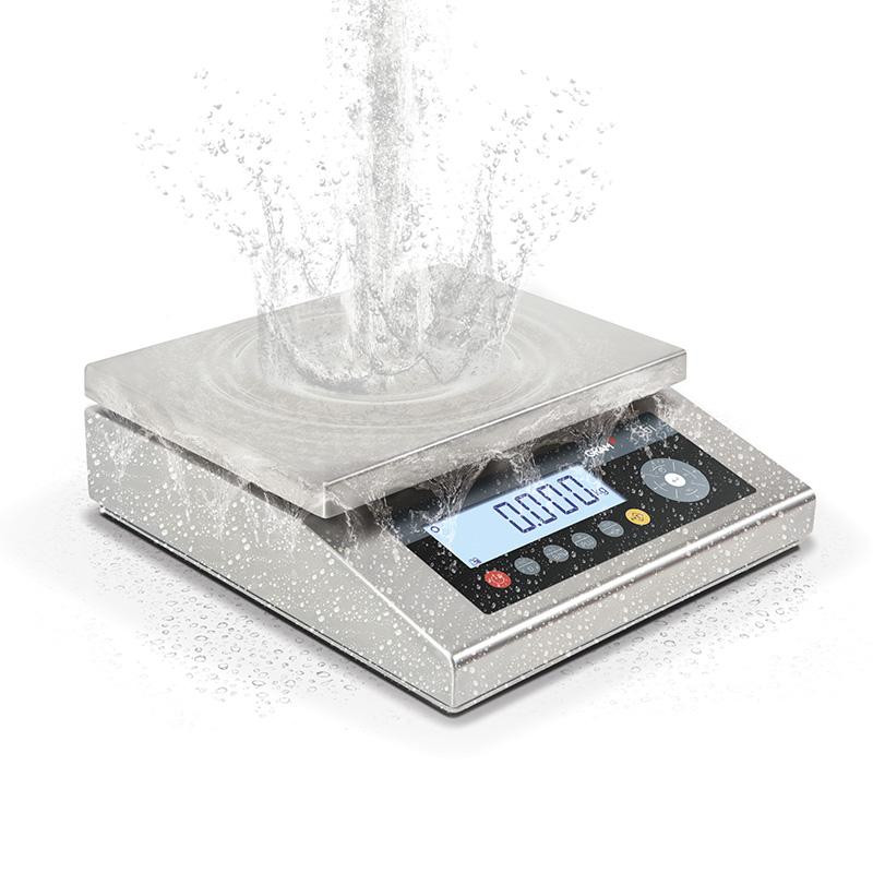 Balanza industrial resistente a líquido y polvo